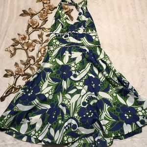 Lilly Pulitzer Willa Floral Halter Dress Size 10